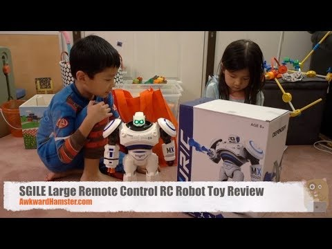 SGILE Large Remote Control RC Robot Toy Review