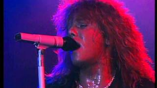 Europe - Open Your Heart (live in Sweden 1986) HD