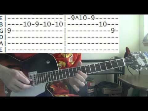 guitar lessons online Blind melon no rain tab