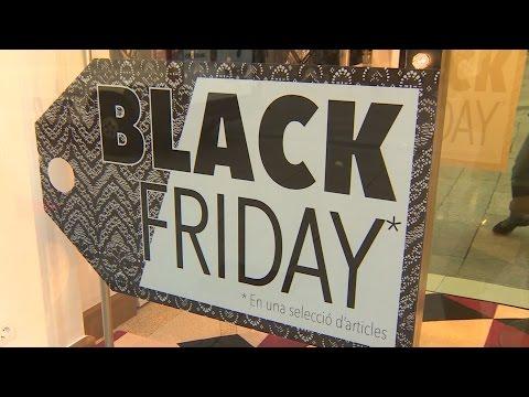 Primeras compras navideñas en el 'Black Friday'