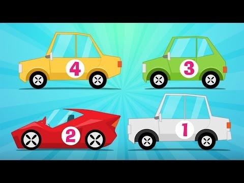 Learn Counting with Cars in Arabic for Kids (1-10) - الأرقام - تعلم عد السيارات للاطفال من ١ إلى ١٠
