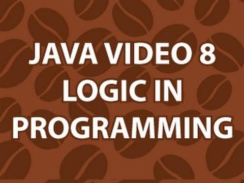 Java Video Tutorial 8