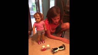 How to make a Hoverboard for an American Girl doll
