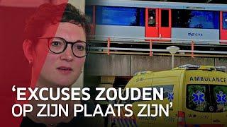 Nabestaanden metromoord teleurgesteld