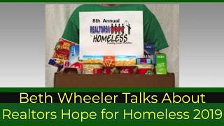 Realtors Hope for Homeless 2019 - Golf Cart Confessions interviews Beth Wheeler