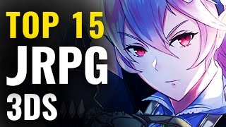 Best 3DS JRPG Video Games  |  Top Japanese RPGs