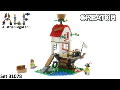 Vidéo LEGO Creator 31078 : Les trésors de la cabane dans l'arbre