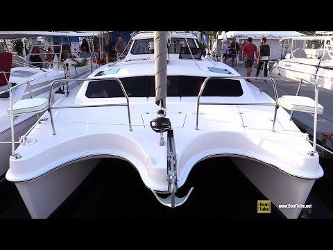 2017 Gemini Legacy 35 Catamaran – Deck and Interior Walkaround – 2016 Annapolis Sailboat Show