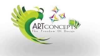 preview picture of video 'Art Concepts, Ratnagiri  Logo Animation'