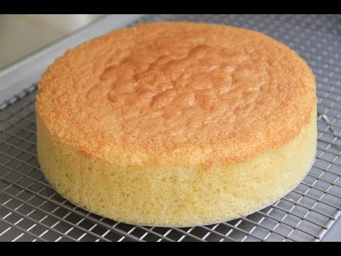 Sponge Cake Recipe – Japanese Cooking 101