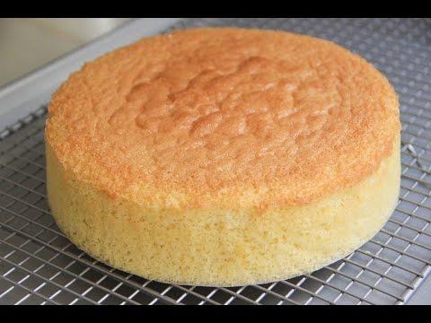 Video Sponge Cake Recipe - Japanese Cooking 101