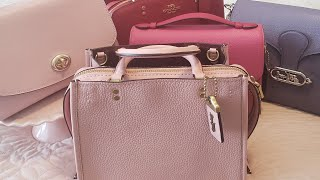 COACH ROGUE Pebble Leather And Other Pebble Or Crossgrain Bags