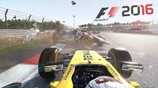 F1 2016 - CRASHES & FAILS