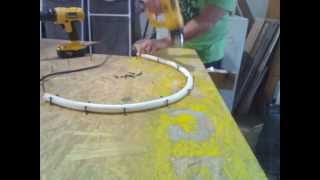 Making PVC circles