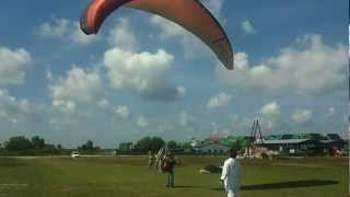 Jackie Paramotor Training - 3rd Take off