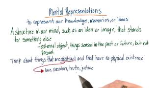 Mental representations - Intro to Psychology
