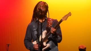 "ZIGGY MARLEY ""Iron, Lion, Zion (Bob Marley cover)""  10-12-14 The Klein, Bridgeport CT bob"