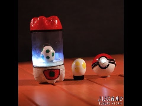 DIY Pokemon Night Lamp & Electronic Poke Ball