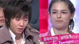Brian Joo imitating Hwanhee and Ayumi