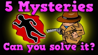 5 Mystery Riddles - Who did it?|Can you solve it?