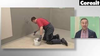 Как выполнить гидроизоляцию ванной, видео инструкция выполнения работ с Ceresit CL 51 и СL 152 - YouTube