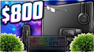 🎮 ULTIMATE $800 BUDGET GAMING SETUP FOR NEW YOUTUBERS! BEST GAMING SETUP FOR ONLY $800 IN 2018! 🎮