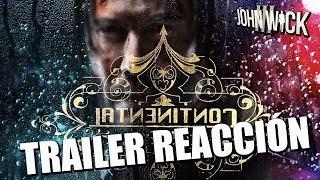 JOHN WICK 3 TRAILER - REACCIÓN - REACTION - REVIEW - KEANU REEVES - PARABELLUM