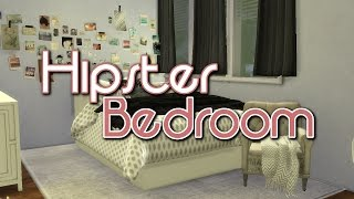 The Sims 4: Room Build | Hipster Bedroom