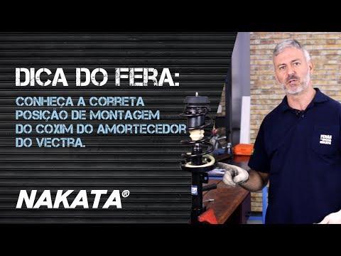 Conheça a correta posição de montagem do coxim do amortecedor do Vectra