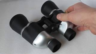 Fixed focus binoculars (not auto focus). How to fine tune focus