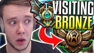 Download Video REDMERCY VISITS BRONZE ELO FOR THE FIRST TIME - Master Playing In Bronze - League of Legends MP3 3GP MP4