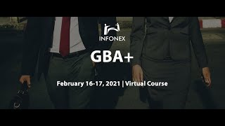Gender Based Analysis Plus (GBA+) 2021 Session