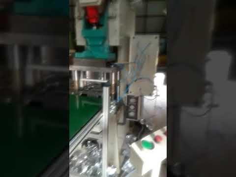 Single Cavity Aluminium Foil Container Making Machine