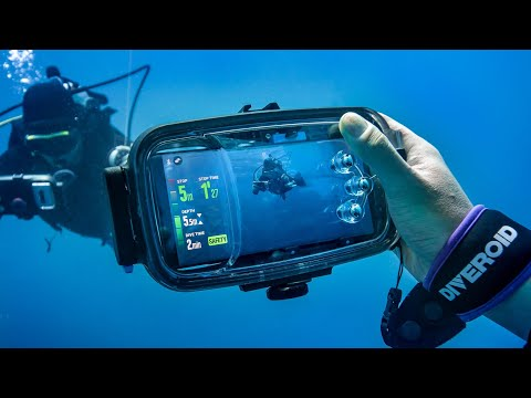 DIVEROID: Turn your smartphone into a Dive gear-GadgetAny