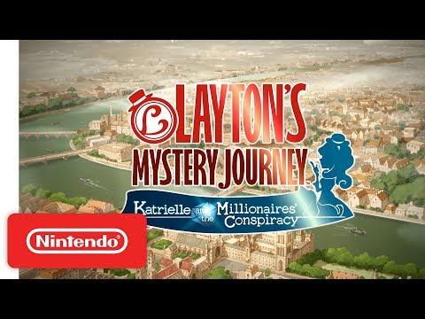 Layton's Mystery Journey - Nintendo 3DS Launch Trailer