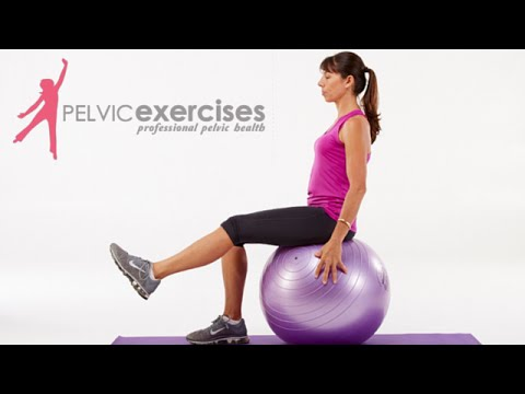 Back Extension (on stability ball, arms down)