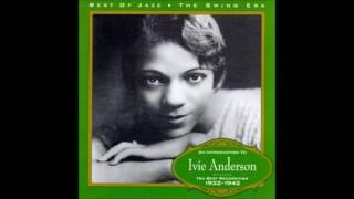 "June 8, 1937 ""All God's Chillun Got Rhythm"", Ivie Anderson"