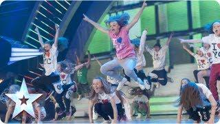 OMG! Youth Creation dance mashup! | Semi-Final 1 | Britain's Got Talent 2013
