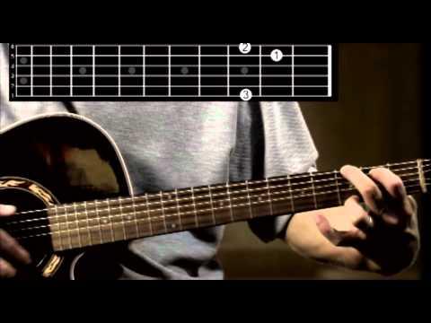 G Major guitar chord tutorial