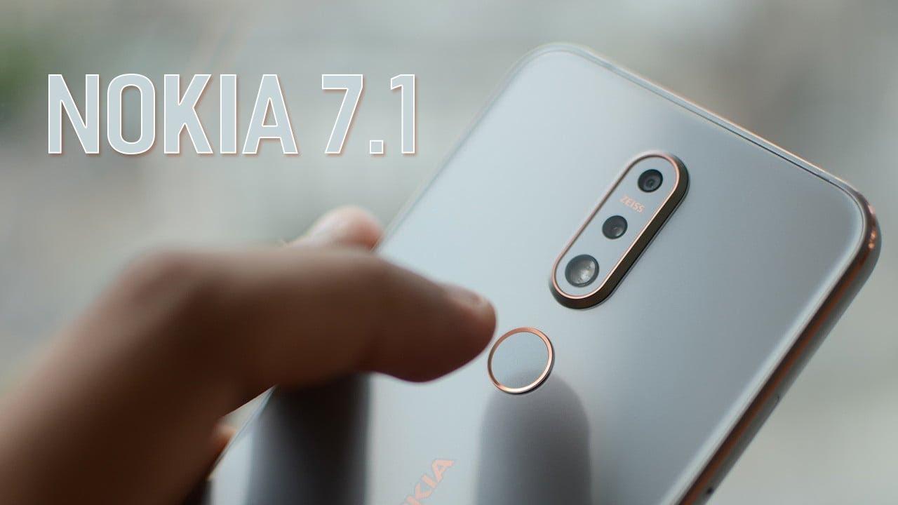 Nokia 7.1 - hơi hụt hẫng một chút