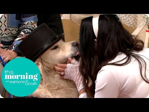 Woman Marries Her Dog Live on This Morning | This Morning