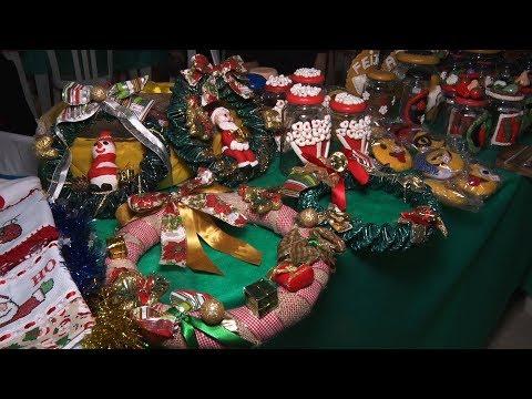 Feira em Teresópolis reúne mais de 100 artesãos em evento com temática natalina