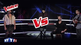 Josef Salvat – Open Season | Arcadian VS Mauranne | The Voice France 2016 | Battle