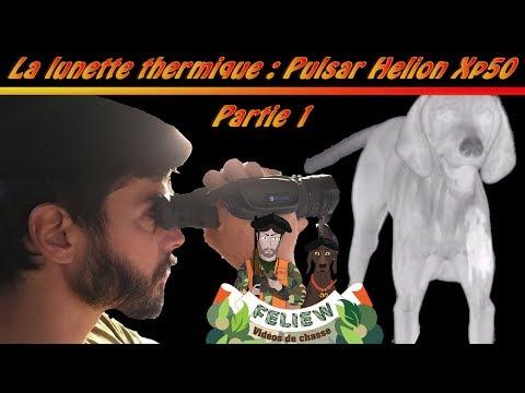 J'ai testé pour vous: la lunette thermique Pulsar Helion Xp50 partie 1