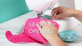 How To Sew A Baby Bib With The Cricut Maker Plus FREE Pattern