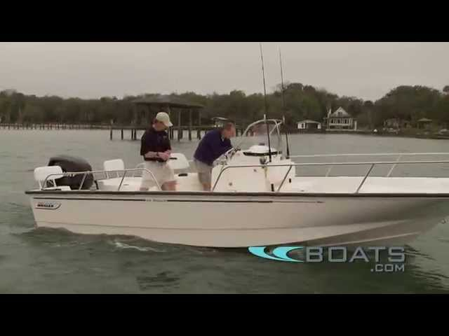 2012 Boston Whaler 210 Montauk Boat Review / Performance Test