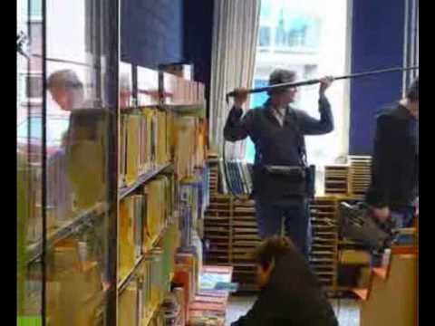 Opnames Sesamstreet in bibliotheek Cuijk