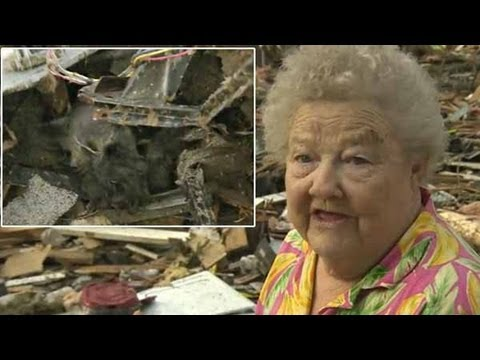 Oklahoma woman whose house was demolished by massive tornado finds her lost dog in the rubble while being interviewed on live TV