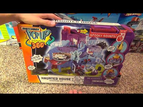 Matchbox Haunted House Giant Pop Up Adventure Set | Youtube