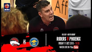 2019-20 BBL Cup, North Group: Leicester Riders v Cheshire Phoenix - 11 Oct 2019